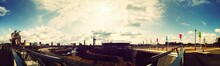 Panoramic View Of Queen Elizab...