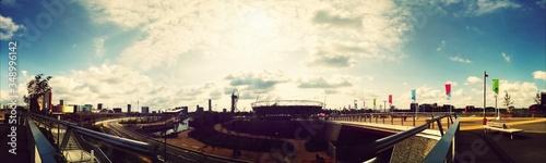 Fotografie, Obraz Panoramic View Of Queen Elizabeth Olympic Park