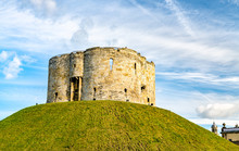 Clifford Tower In York, England