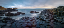 Giants Causeway At Sunrise