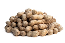 Heap Of Fresh Monkeynut Isolat...