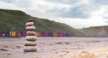 Pebble Tower By The Seaside Wi...