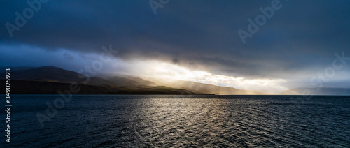 Photo Darkness Descends On Lake Aviemore, New Zealand