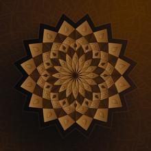 Paper Style Ornament Color Isl...