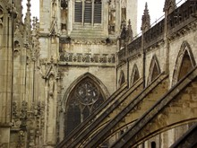 Exterior Of York Minster Cathedral