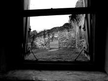 Abandoned Window Of Old Ruin