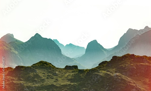 Altitude. Canvas Print