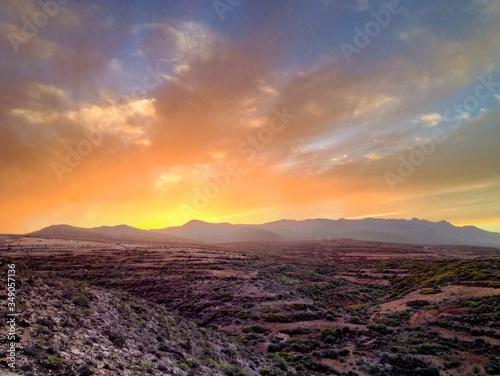 Desert Landscape Fototapet