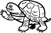 Mascot Icon Illustration Of An...