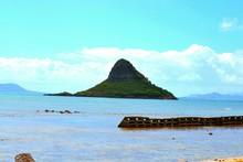 Scenic View Of Molokai Island