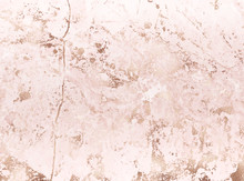 Pink Marble Background With Go...