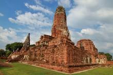 Wat Phra Ram, Buddha Statue, H...