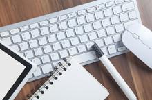 Tablet, Notepad, Marker, Compu...