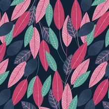 Colorful Flora Pattern Design ...