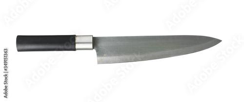 Chef's kitchen knife isolated on white background Fototapeta