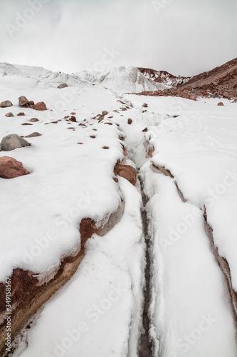 Gergeti glacier Canvas-taulu