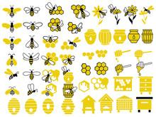 Honey Set. Collection Of Beeke...