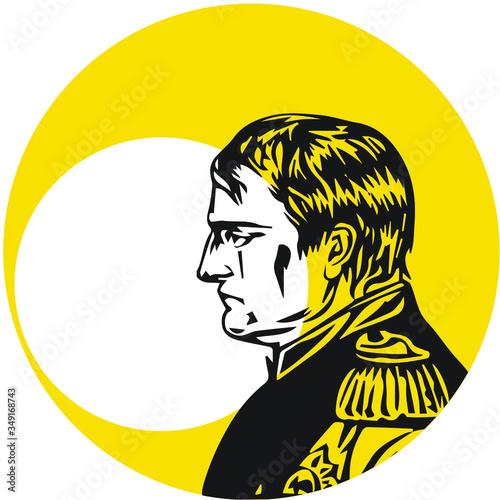 Napoleon Bonaparte Commander of the French Army Fotobehang