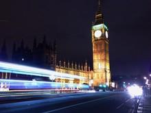 View Of Big Ben At Night