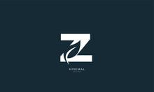 Alphabet Letter Monogram Icon Logo Z With A Leaf