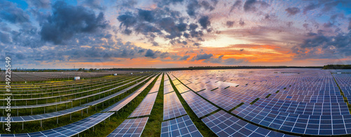 Fototapeta Solar power station obraz