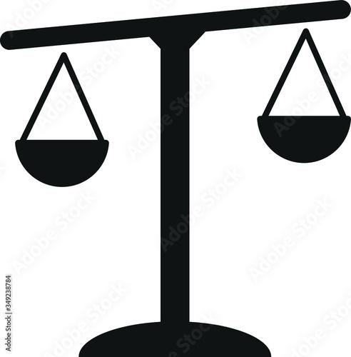 Photo Scales balance icon