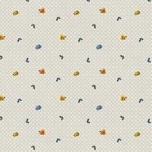 Seamless Pattern With Small Fl...
