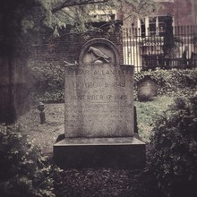 Grave In A Cemetery