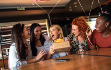 Group Of Girls Surprise Their ...