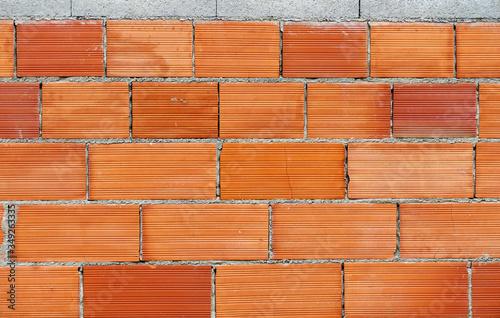 Fotografia parede de tijolos