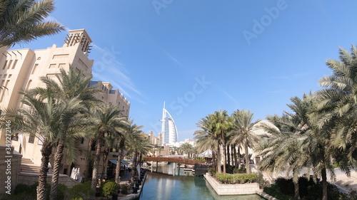 Burj Al Arab - Dubai - Jumeirah Canvas Print