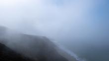 Coast In The Mist Along The Hi...