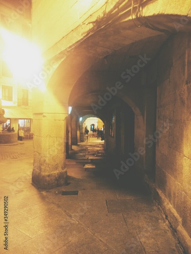Archway Of Old Town Fototapeta