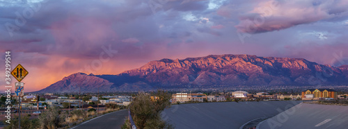Photo Panoramic View Of City During Sunset