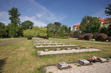 Cemetery Of Soviet Soldiers In Zary. Poland
