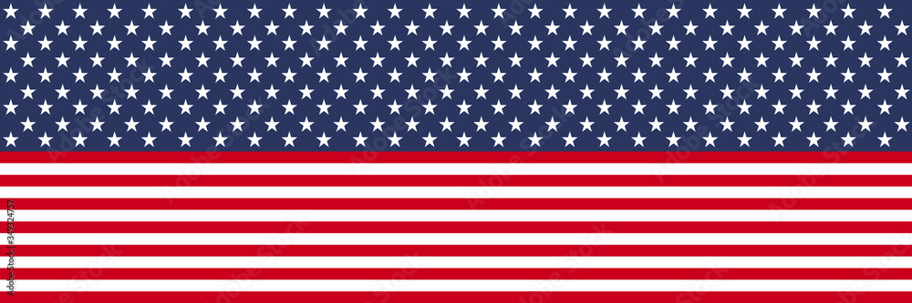 Fototapeta Flag USA. Stars and stripes pattern background.