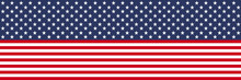 Flag USA. Stars And Stripes Pa...