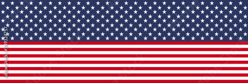 Photo Flag USA. Stars and stripes pattern background.