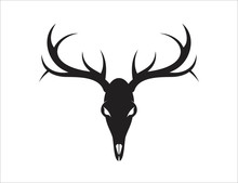 Deer Logo Design Vector Ilustr...