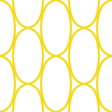 Golden Or Yellow Ovals, Seamle...