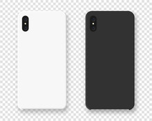 Smartphone Case Mockup. Realis...