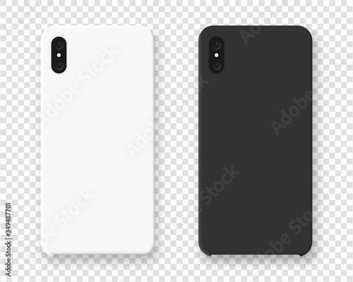 Smartphone case mockup Fototapet