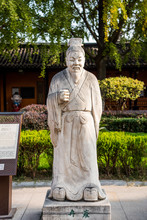 Marble Statue Of Ran Yong, A C...