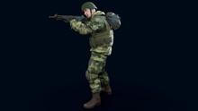 Male Soldier 3d Render, 3d Mod...