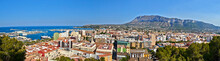 Panoramic View On The Port And...