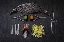 Fly Tying Material, Equipment And Tools