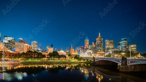 Yarra River, Melbourne, Victoria, Australia #349524945