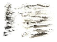 Black Gray Set Abstract Waterc...