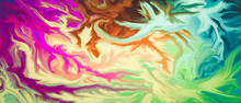 Colorful Abstract Watercolor D...