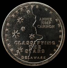 1 Dollar Coin. American Innovation Annie Jump Cannon